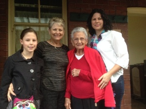 Four Generations Visit