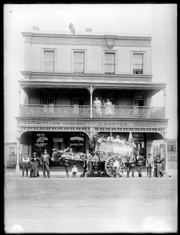 James Porter's Store - probably in the late 1890's