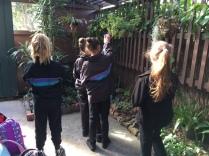 Students visiting